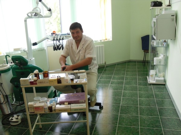 """Стоматологический кабинет в Гостевом доме """"Уют"""" в Лоо"""