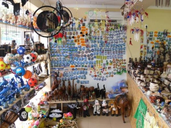 """Магазин """"Сувениры - Бижутерия"""" в Гостевом доме на улице Весенняя 3 в Лоо"""