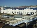 Железнодорожный вокзал. Адрес: Краснодарский край, Новороссийск,  , ул.Жуковского,16.