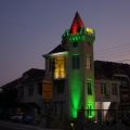 """Отель """"Tower House"""". Адрес: Краснодарский край, Туапсинский район,  Шепси, ул. Сочинская 14 Б."""