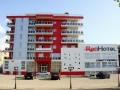 "Отель ""Red Hotel"". Адрес: Краснодарский край, Анапский р-н.,  г-к. Анапа, Анапское шоссе 1-В."