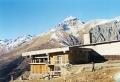 """Гостиница """"Пик Инэ"""". Адрес: Карачаево-Черкесская, Домбай,  , на склоне горы Мусса-Ачитара, на высоте 2250 метров над уровнем моря."""